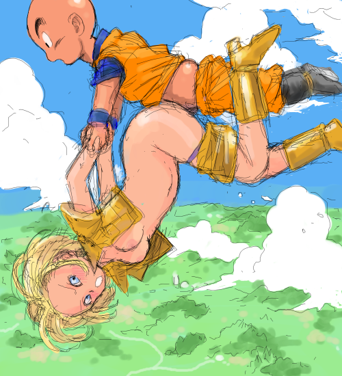 krillin and android hentai 18 Project x love disaster zu