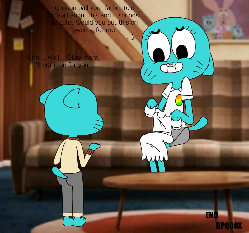 of the amazing gumball world heist the Naked starfire teen titans go