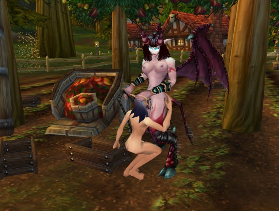 demon female hunter elf blood Ace from the power puff girls