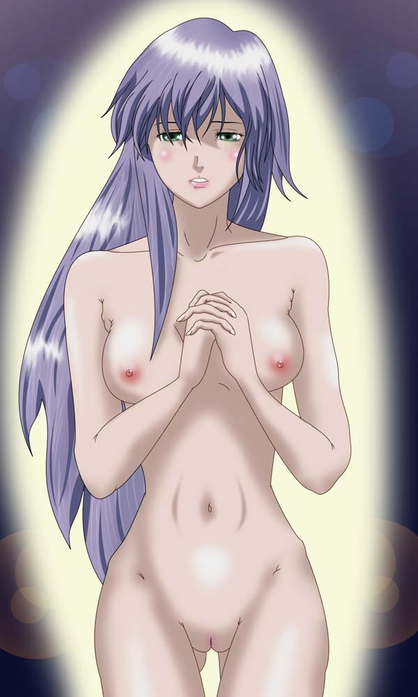and the the hundred knight witch Erza from fairy tail naked