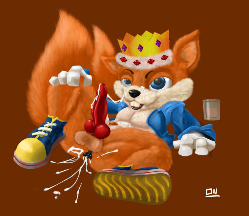 fur bad bull conker's day How to get a female salandit