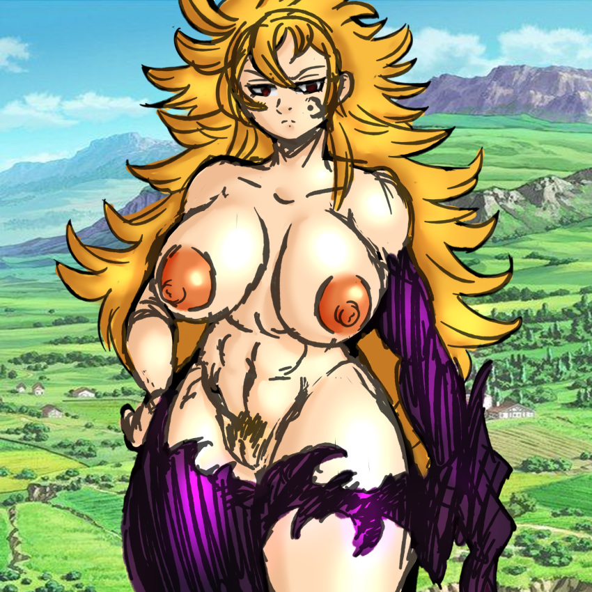 deadly sins the seven naked Marvel vs capcom shadow lady