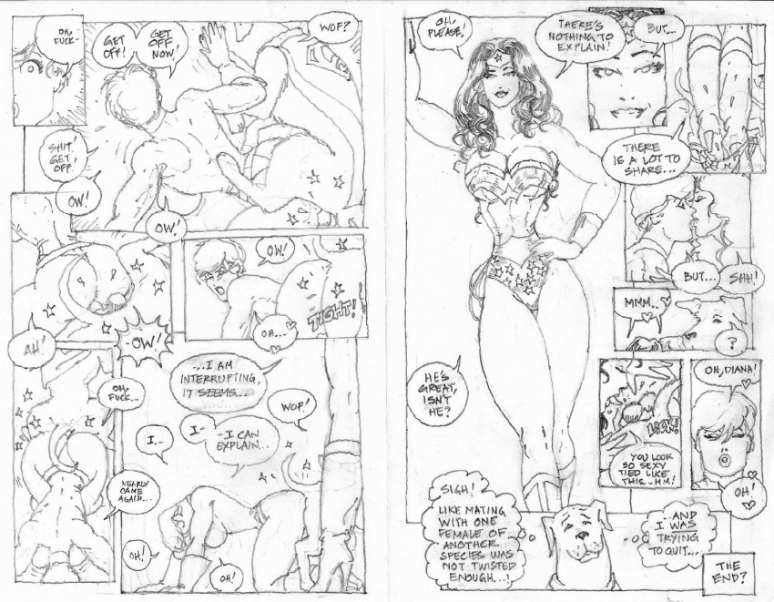 powergirl woman and kiss wonder Clash of clans porn pics