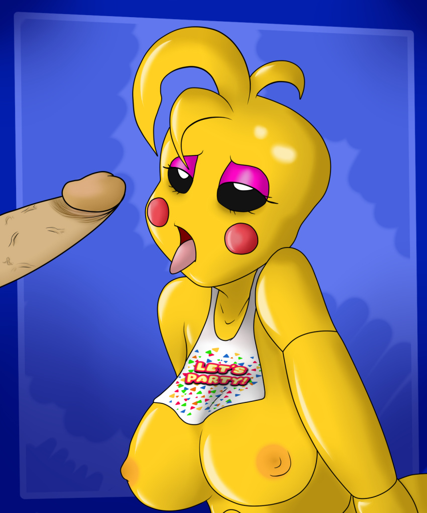 toy chica fnaf Moblin breath of the wild